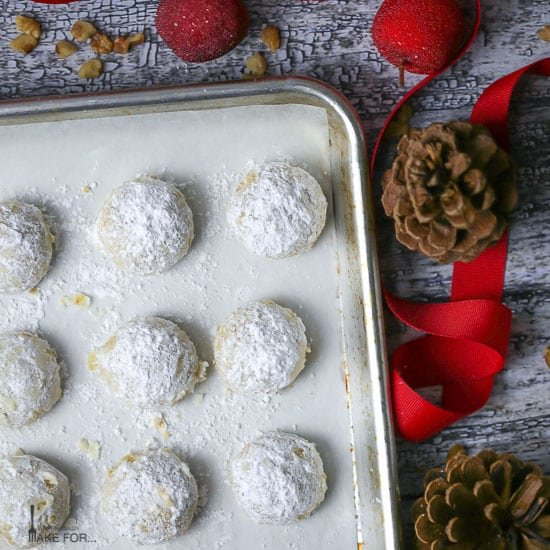 Walnut Snowball Cookies - What should I make for...